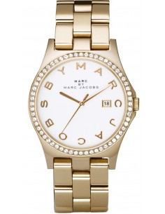 Chic Time | Montre Femme Marc Jacobs Henry MBM3045 Or  | Prix : 119,40 €