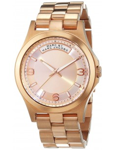 Chic Time | Montre Femme Marc by Marc Jacobs Baby Dave MBM3232 Or Rose  | Prix : 149,40€