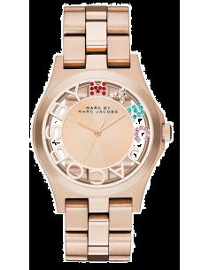 Chic Time | Montre Femme Marc by Marc Jacobs Henry MBM3264 Bracelet doré en acier inoxydable  | Prix : 209,00€