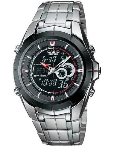 Chic Time | Montre Homme Casio EFA-119BK-1AVDF Noir  | Prix : 78,99€