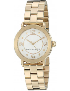 Chic Time | Montre Femme Marc by Marc Jacobs Riley MJ3473 Or  | Prix : 183,20 €