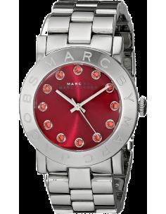 Chic Time | Montre Femme Marc by Marc Jacobs Amy MBM3333 Bracelet argenté en acier inoxydable  | Prix : 159,99€