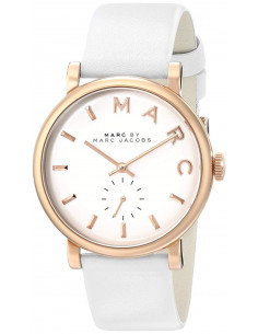 Chic Time | Montre Femme Marc by Marc Jacobs Henry MBM1283 Index et boîtier or rose  | Prix : 199,00 €