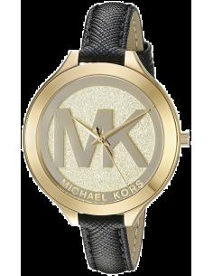 Chic Time | Montre Michael Kors Runway MK2392 Bracelet en cuir noir  | Prix : 199,20€