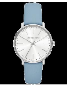 Chic Time | Montre Michael Kors Pyper MK2739 Bracelet en cuir bleu clair  | Prix : 209,00€