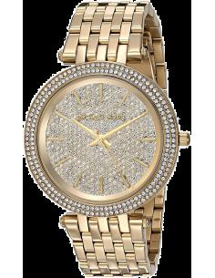 Chic Time | Montre Michael Kors Darci MK3438 Dorée et onée de brillants  | Prix : 219,90€