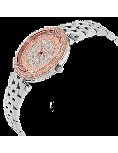 Chic Time   Montre Femme Michael Kors Darci MK3446 Acier et ornée de brillants    Prix : 251,10€