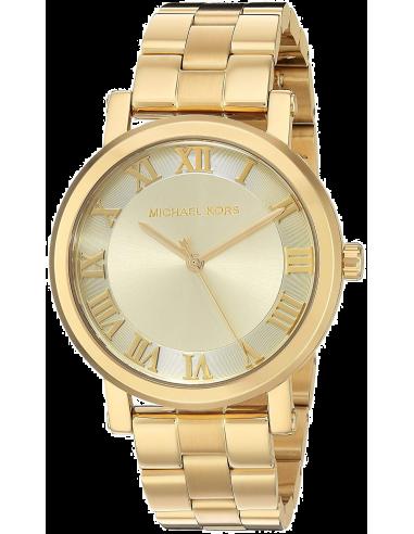 Chic Time   Montre Femme Michael Kors Norie MK3560 Acier doré    Prix : 257,10€