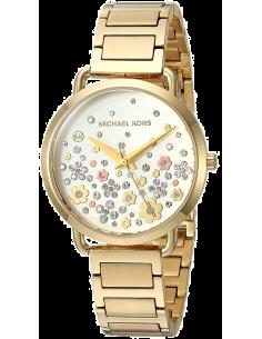 Chic Time | Montre Femme Michael Kors Portia MK3840 Motif floral  | Prix : 149,40€
