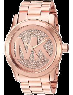 Chic Time | Montre Femme Michael Kors Runway MK5661 Bracelet en acier de couleur or rose  | Prix : 237,15€