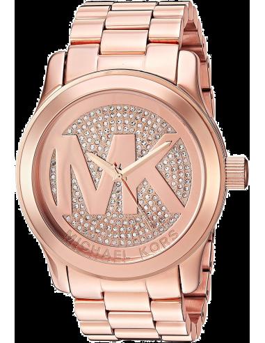 Chic Time   Montre Femme Michael Kors Runway MK5661 Bracelet en acier de couleur or rose    Prix : 237,15€