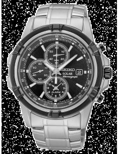 Chic Time | Montre Homme Seiko Solar SSC147P1 Chronograph Bracelet Argenté En Acier Inoxydable  | Prix : 233,40€