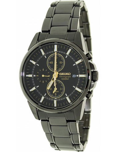 Chic Time   Montre Homme Seiko Chronograph SNAF07    Prix : 303,20€