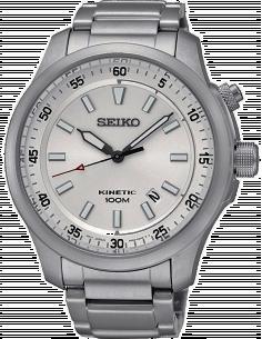 Chic Time | Montre Homme Seiko Kinetic SKA683P1 Argent  | Prix : 384,00€