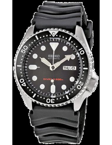 Chic Time   Montre Homme de plongée Seiko Diver's SKX007K1 Bracelet En Caoutchouc Noir    Prix : 656,00€