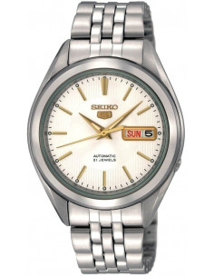 Chic Time | Montre Homme Seiko 5 Automatique SNKL17 bracelet acier  | Prix : 215,20€