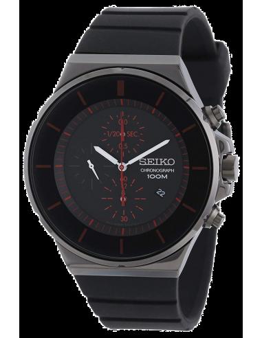 Chic Time | Montre Homme Seiko Chronograph SNDD61 Noir  | Prix : 239,20€