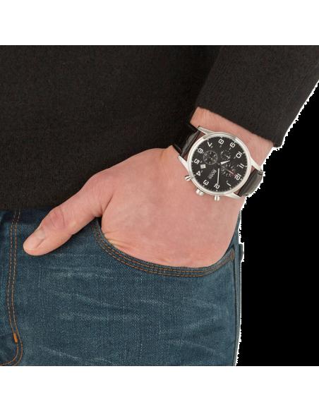 Chic Time | Montre Homme Hugo Boss Aeroliner 1512448 Noire  | Prix : 177,00€