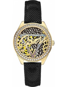 Chic Time | Montre Femme Guess W0456L4 Noir  | Prix : 137,40€