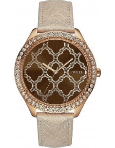 Chic Time | Montre Femme Guess W0579L2 Or Rose  | Prix : 113,40€