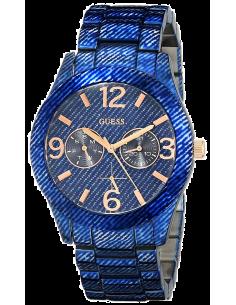 Chic Time | Montre Femme Guess Trend W0288L1 Bleu  | Prix : 379,00€