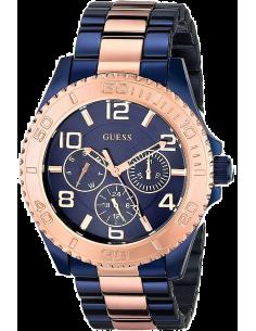 Chic Time | Montre Femme Guess Sporty W0231L6 Bleu  | Prix : 529,00€
