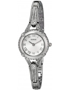 Chic Time   Montre Femme Guess Angelic W0135L1 Argent    Prix : 109,90€
