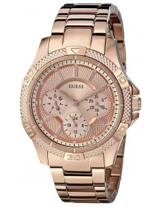 Chic Time | Montre Femme Guess Mini Phantom W0235L3 Or Rose  | Prix : 379,98 €