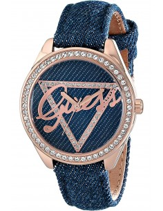 Chic Time | Montre Femme Guess W0456L6 Bleu  | Prix : 199,00€