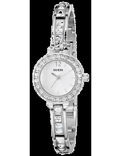 Chic Time | Montre Femme Guess Iconic W0429L1 Bracelet ultra fin avec cristaux carrés  | Prix : 179,00€