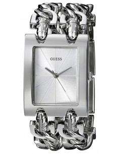 Chic Time | Montre Guess Heavy Metal Double Chaîne I80305L1/ G75916L  | Prix : 119,20€