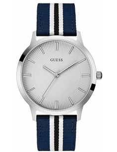 Chic Time   Montre Homme Guess W0795G3 bleu blanc noir    Prix : 259,00€