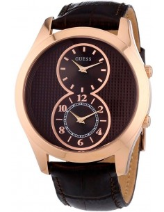 Chic Time | Montre Homme Guess W0376G3 Marron  | Prix : 219,00 €