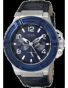 Chic Time | Montre Homme Guess W0040G7 Bleu  | Prix : 199,00€