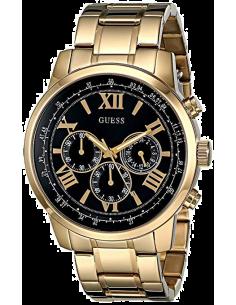 Chic Time   Montre Homme Guess W0379G4 Chronographe acier inoxydable doré    Prix : 183,20€