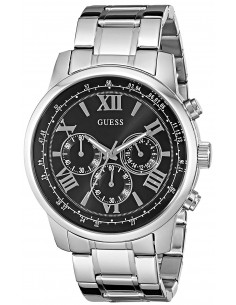 Chic Time | Montre Homme Guess W0379G1 Chronographe acier inoxydable  | Prix : 299,00 €