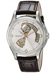 Chic Time   Montre Homme Hamilton Jazzmaster Open Heart H32565555    Prix : 652,50€