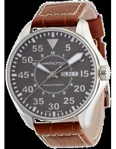 Chic Time   Montre Homme Hamilton Khaki Pilot H64715885    Prix : 715,50€