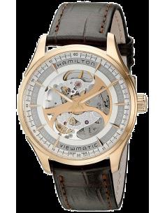 Chic Time   Montre Homme Hamilton Jazzmaster H42545551 Marron    Prix : 1,095.00