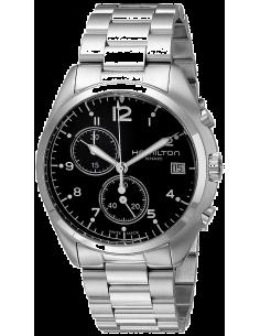 Chic Time | Montre Hamilton H76512133 Pilot Pioneer chrono acier cadran noir 41 mm  | Prix : 535,00€