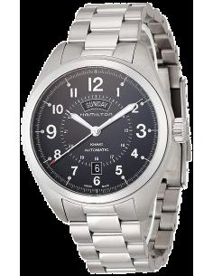 Chic Time   Montre Hamilton H70505133 Khaki Field Day Date automatique bracelet acier    Prix : 795,00€