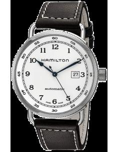 Chic Time   Montre Hamilton H77715553 Khaki Navy Pioneer cadran argent    Prix : 895,00€