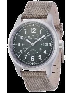 Chic Time | Montre Hamilton H70595963 Khaki Field Auto khaki bracelet nato  | Prix : 595,00€