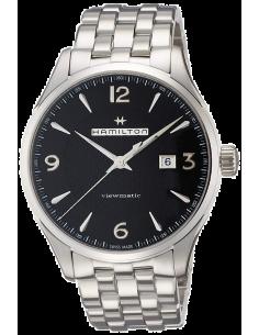 Chic Time   Montre Hamilton H32755131 Jazzmaster Viewmatic automatique acier cadran noir 44 mm    Prix : 895,50€
