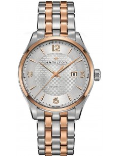 Chic Time | Montre Hamilton H42725151 Jazzmaster Viewmatic automatique acier PVD or rose 44 mm  | Prix : 967,50 €