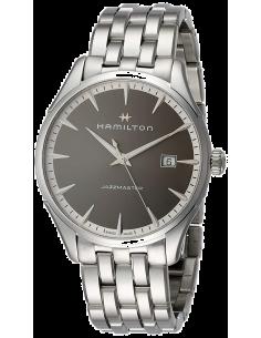 Chic Time | Montre Hamilton H32451181 Jazzmaster quartz acier cadran anthracite 40 mm  | Prix : 545,00€