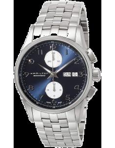 Chic Time | Montre Hamilton H32576141 Jazzmaster maestro automatique acier cadran bleu 41 mm  | Prix : 1,300.50
