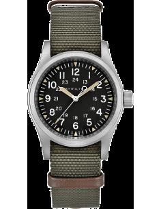 Chic Time | Montre Hamilton H69429931 Khaki Field mechanical acier sur NATO khaki 38 mm  | Prix : 420,00€