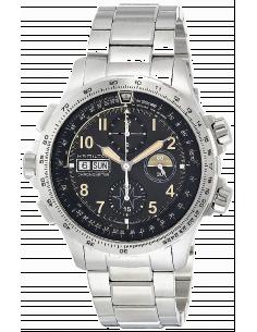 Chic Time | Montre Hamilton H77796135 Khaki Aviation X-Wind Auto Chrono bracelet acier ed.limitée 1918 ex.  | Prix : 2,300.00
