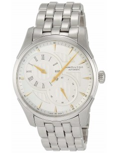 Chic Time   Montre Hamilton H42615151 Jazzmaster Regulator automatique cadran argenté bracelet acier    Prix : 1,125.00